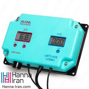 نمایشگر pH/EC آنلاین HI981405