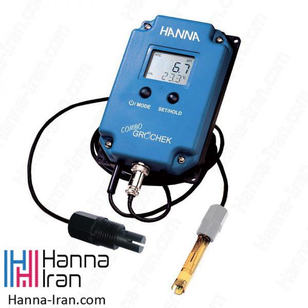 نمایشگر pH/EC/TDS آنلاین HI991404