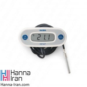 خرید و سفارش ترمومتر دیواری یخچال با کابل یک متری هانا HI147