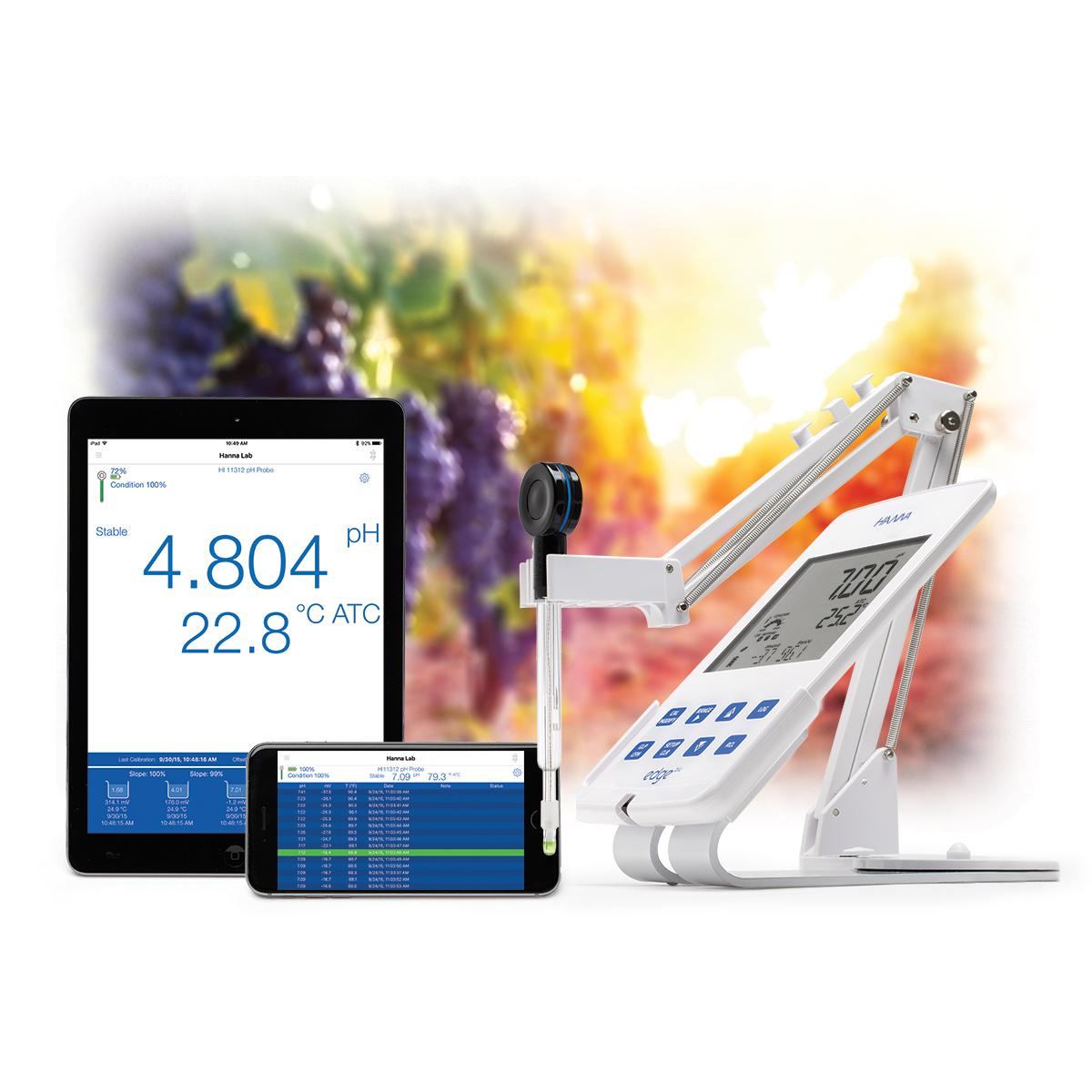 الکترود بلوتوثی ارزان پی اچ قابل اتصال به تلفن همراه