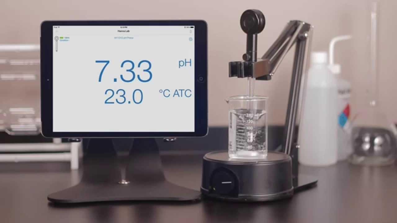 قیمت و فروش الکترود پی اچ بلوتوثی با قابلیت اتصال به تلفن همراه HI11312