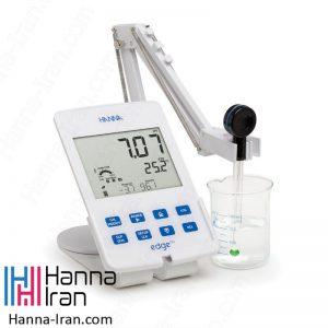 pH متر رومیزی و بلوتوثی HI2202 کمپانی هانا