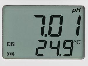نمایشگر دستگاه ph متر