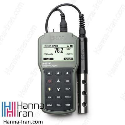 DO متر پرتابل مدل HI98198