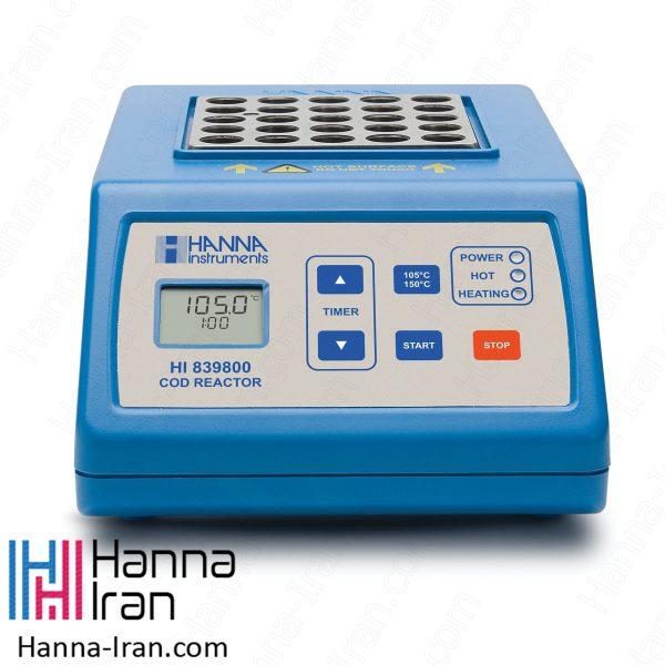COD متر مدل HI839800 هیتر تست تیوب هانا