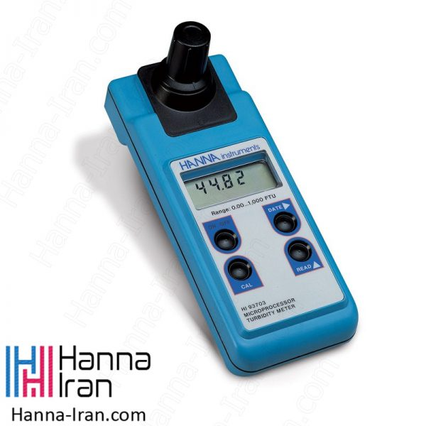 کدورت سنج پرتابل مدل HI93703 تولید کمپانی امریکایی هانا