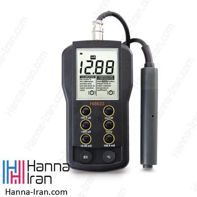 EC متر پرتابل مولتی رنج HI8633