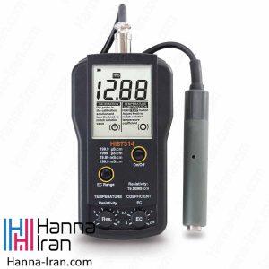 EC/Resistivity متر پرتابل HI87314