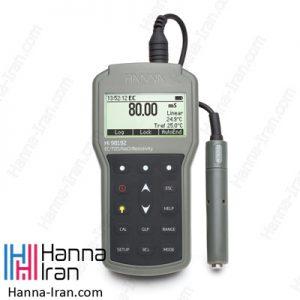 EC/TDS/Resistivity/Salinity متر پرتابلHI98192