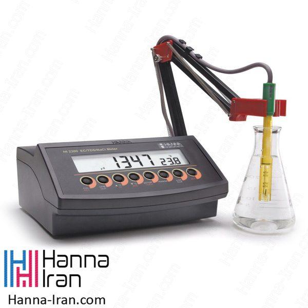 EC/TDS/Salinity متر رومیزی HI2300