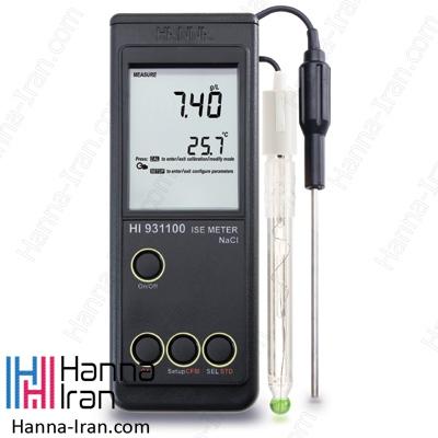 مشخصات، قیمت و خرید یون سنج و یا ise متر هانا مدل hi931101