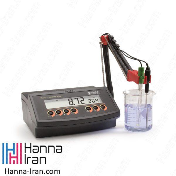 pH/mV متر رومیزی HI2211 کمپانی هانا