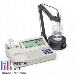 pH/mV متر رومیزی HI122 هانا