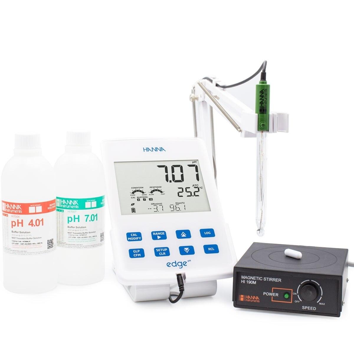 مشخصات و خرید pH متر رومیزی HI2002