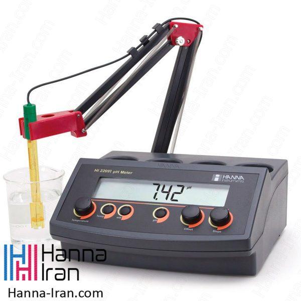 pH/mV متر رومیزی HI22091 هانا