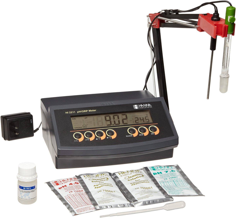 قیمت و فروش pH/mV متر رومیزی HI2211