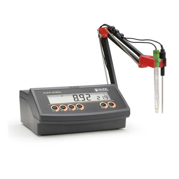 مشخصات و خرید pH/mV متر رومیزی HI2211