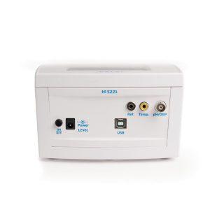 پشت دستگاه pH/ORP متر رومیزی HI5221