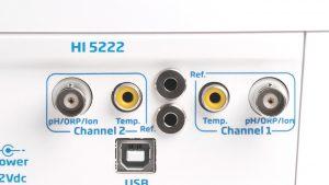 قیمت hi5222، پی اچ متر، orp متر و ise متر هانا
