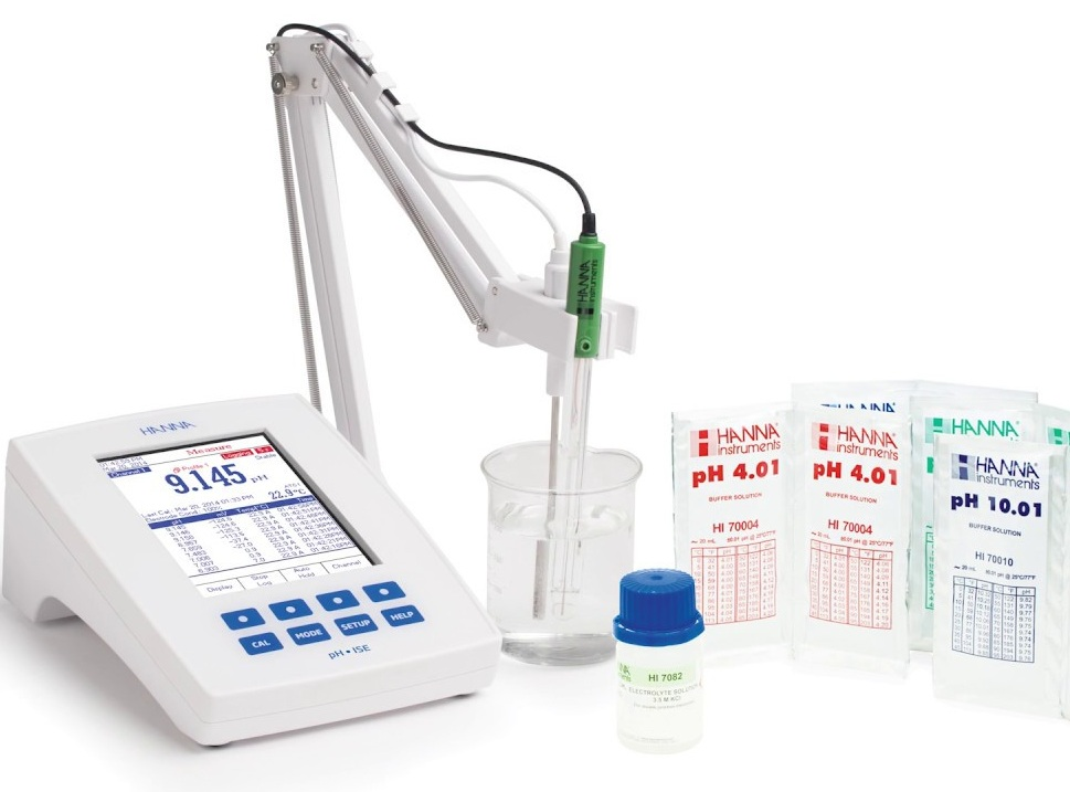 مشخصات، خرید و قیمت pH/ORP متر رومیزی HI5221