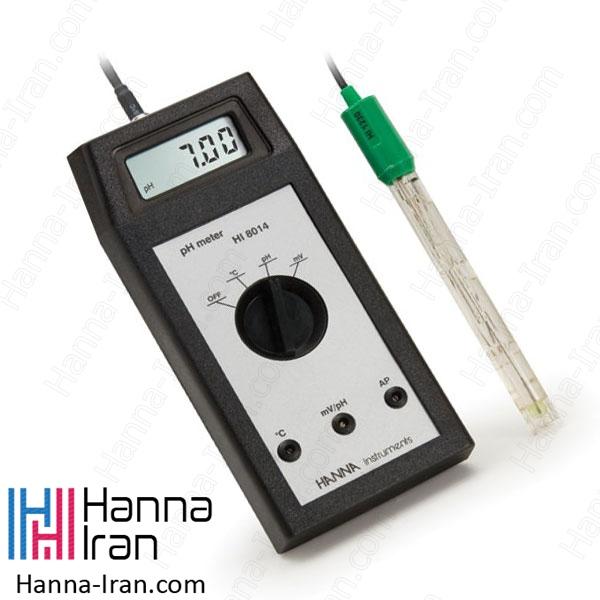 pH متر پرتابل HI8014