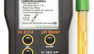 خرید pH متر پرتابل و ارزان HI8314