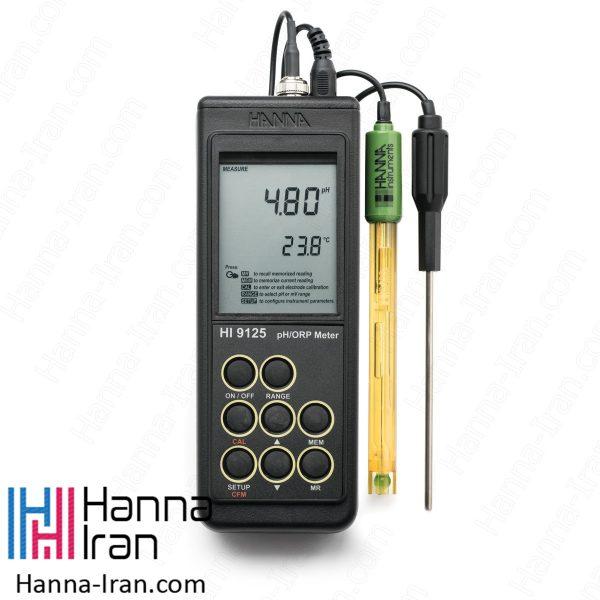 pH/mV متر پرتابل HI9125