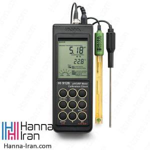 خرید و سفارش pH/mV متر پرتابل HI9126 شرکت هانا