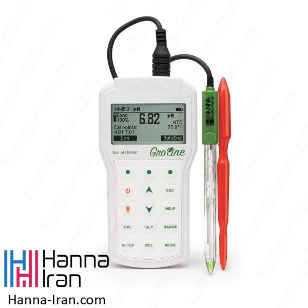 pH متر پرتابل خاک HI98168 کمپانی هانا