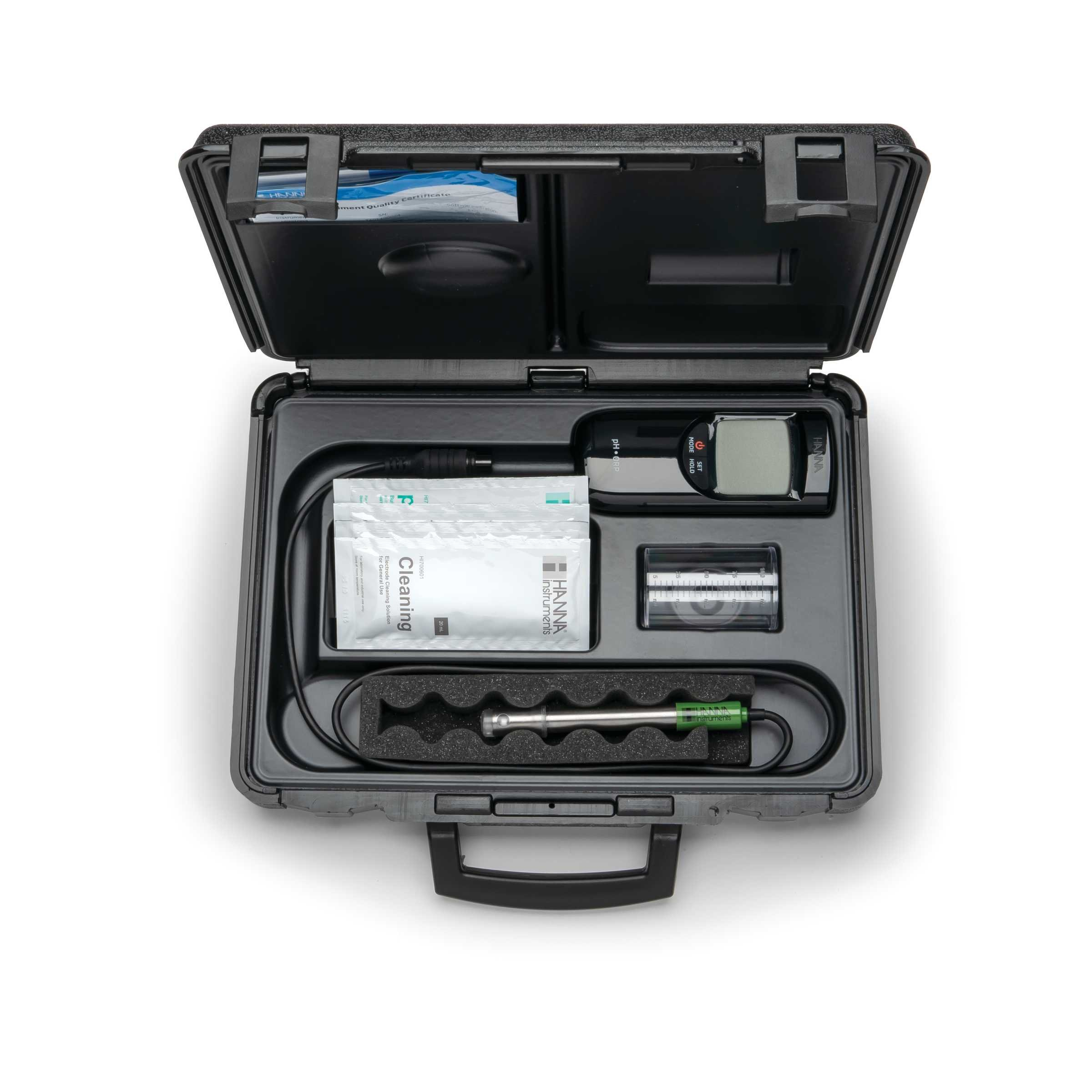 مشخصات و بررسی PH متر پرتابل با الکترود مخصوص استفاده در صنایع آبکاری HI991003