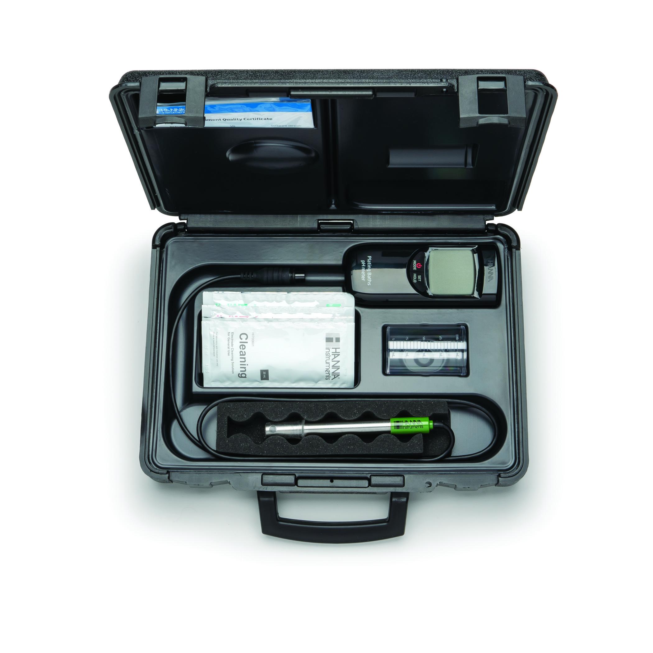 بسته محصول pH متر پرتابل بویلر HI99141