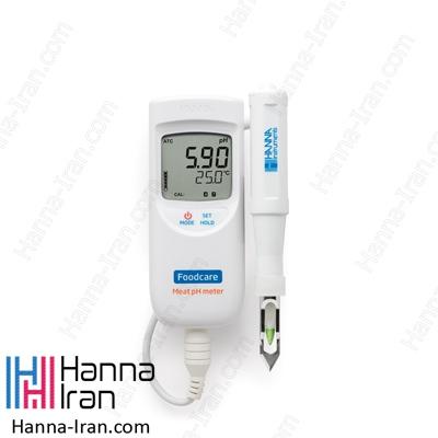 pH متر پرتابل گوشت HI99163 کمپانی هانا