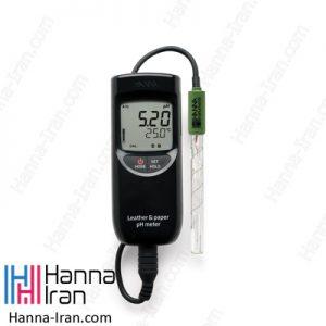 pH متر پرتابل چرم و کاغذ HI99171