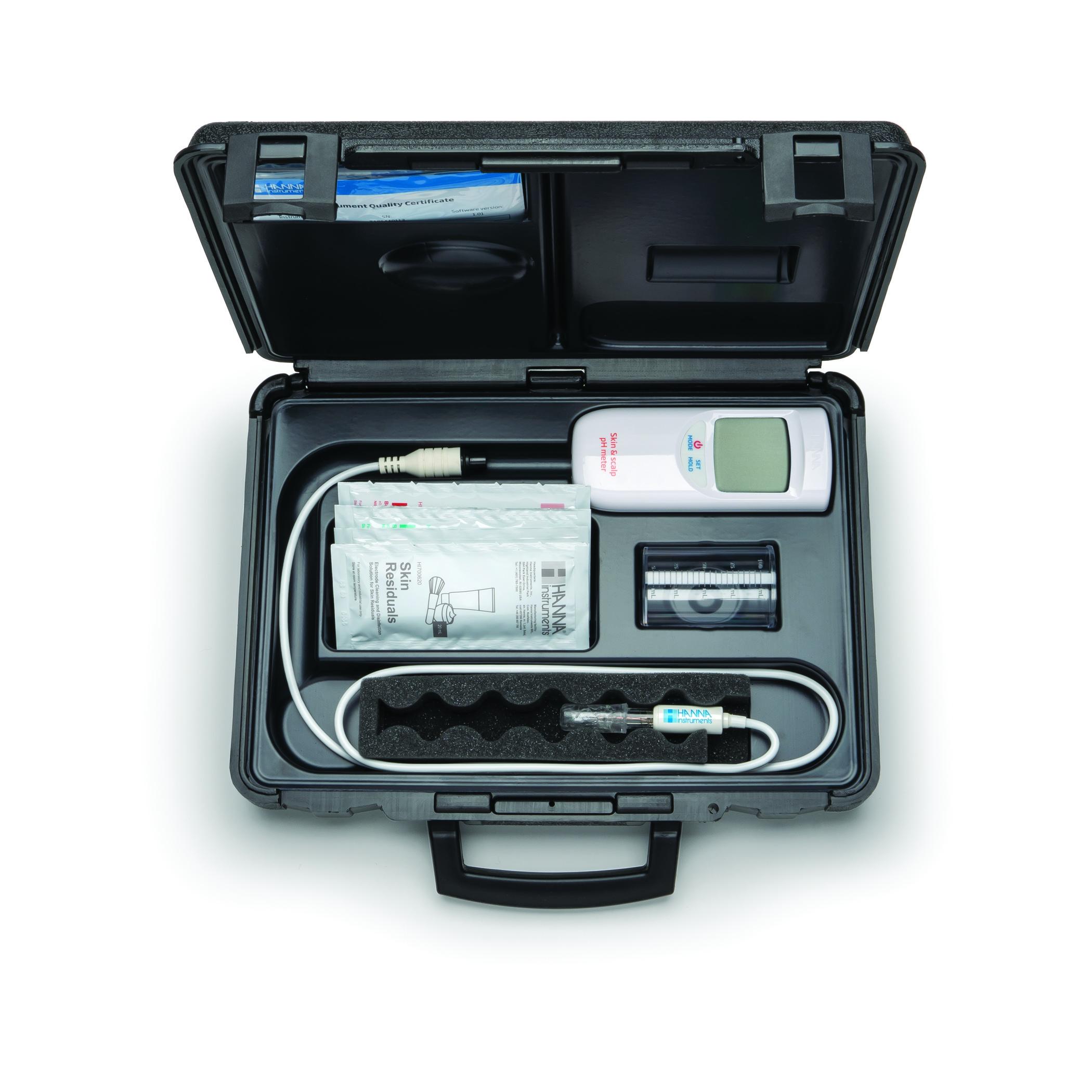 بسته لوازم pH متر پرتابل پوست HI99181