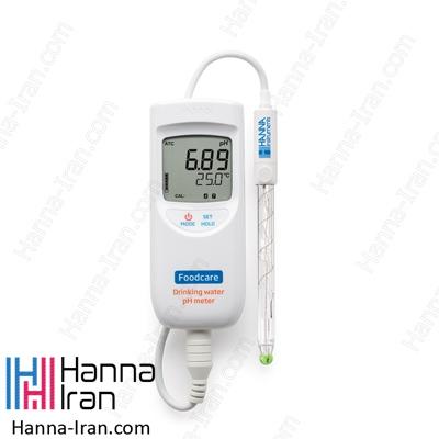 pH متر پرتابل آب آشامیدنی HI99192
