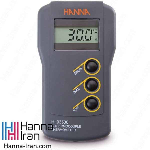 دماسنج ترموکوپلی مدل HI93530 تولیدی هانا