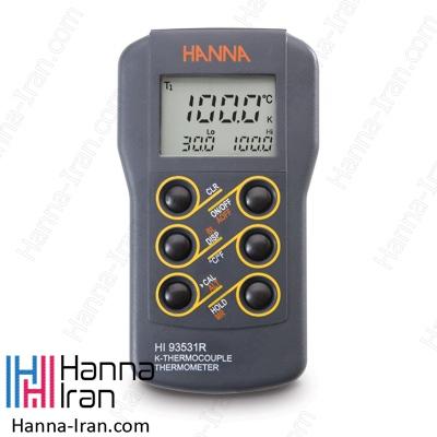 دماسنج ترموکوپلی مدل HI93531R کمپانی هانا