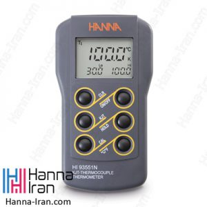 دماسنج ترموکوپلی مدل HI93551N تولید کمپانی هانا