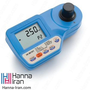 pH و فتومتر برم، کلر، ید، آهن، سیانوریک اسید HI96101 کمپانی هانا