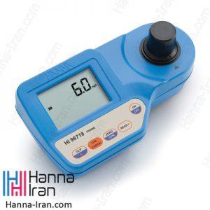 فتومتر پرتابل ید HI96718 کمپانی هانا