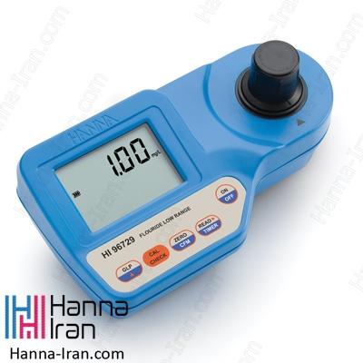 فتومتر پرتابل فلوراید مدل HI96729 تولید کمپانی آمریکایی هانا