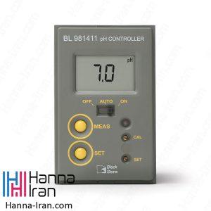 کنترلر آنلاین pH مدل BL981411 محصول هانا
