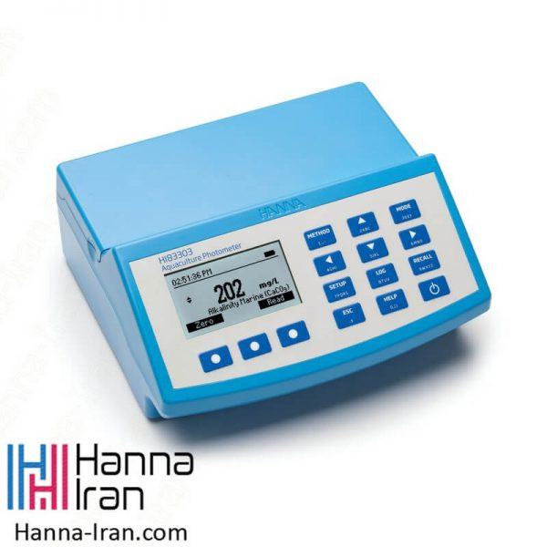 فتومتر مولتی پارامتر رومیزی مدل HI83303 محصول هانا