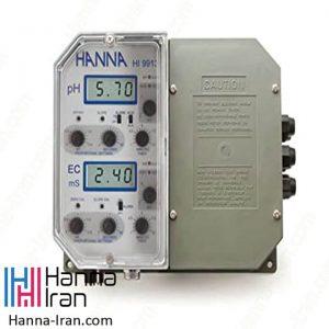 کنترلر pH و EC صنعتی HI9913