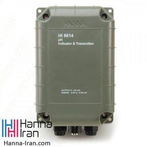 ترنسمیتر pH مدل HI8614 تولید کمپانی هانا