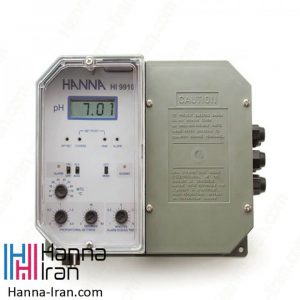 کنترلر صنعتی pH مدل HI9910 هانا