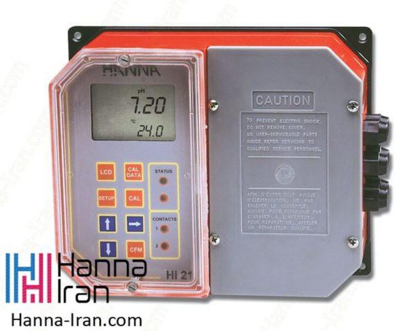 کنترلر دیجیتالی PH صنعتی هانا HI21